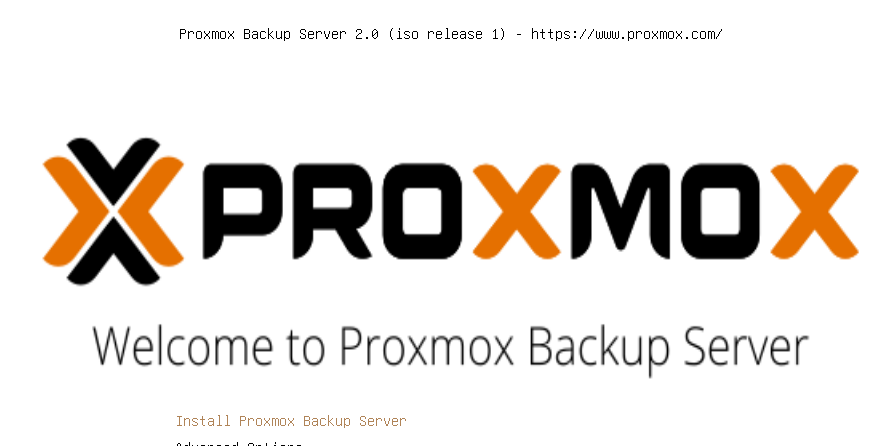 Featured Image: Install proxmox backup server as a vm